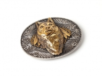 Wolf Head Belt Buckle