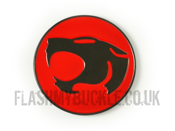 Thundercats - Red & Black Belt Buckle