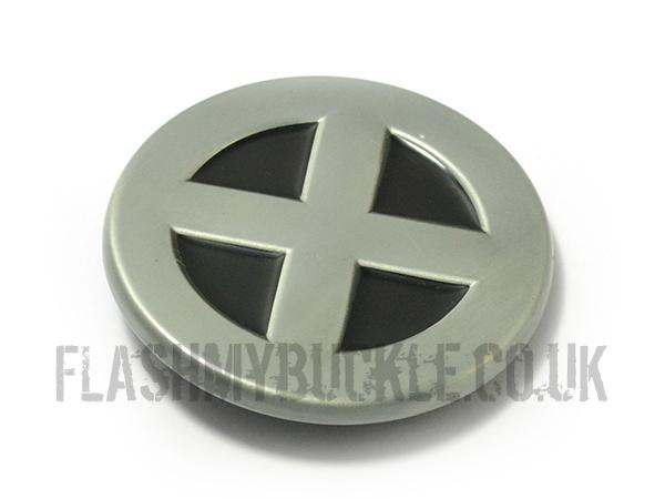 X Men Logo Belt Buckle
