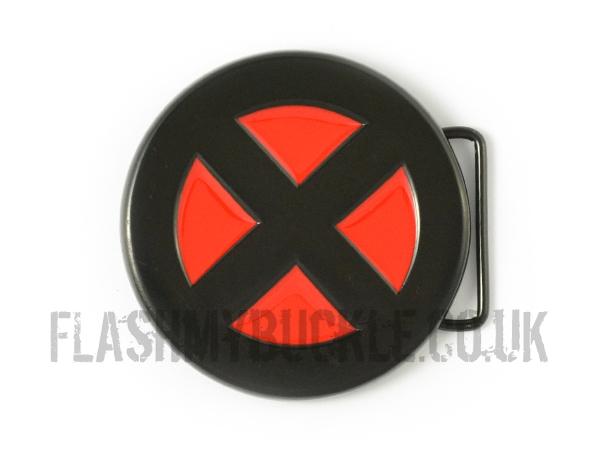 X-Men Logo (Red) Belt Buckle